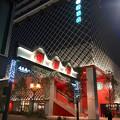 写真: 建物が完成した4月再開場予定の御園座 - 11:御園通商店街から見た新・御園座