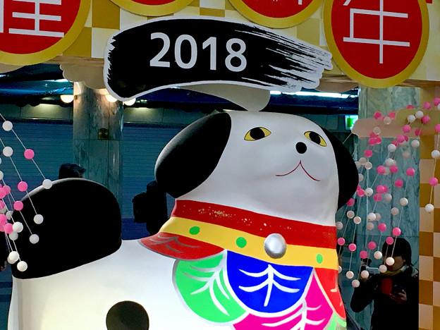 クリスタル広場:戌年にちなんだ犬の置き物は「古代犬」!? - 8