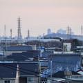 犬山丸の内緑地から見えた名駅ビル群 - 1