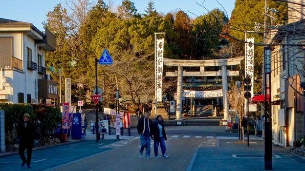 大勢の人で賑わってた、1月の週末の犬山城下町 - 12