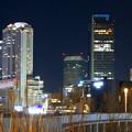 グローバルゲート最上階から撮影した夜の名駅ビル群 - 2