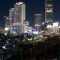 グローバルゲート最上階から撮影した夜の名駅ビル群(iPhone 8で撮影) - 6