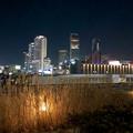グローバルゲート最上階から撮影した夜の名駅ビル群(iPhone 8で撮影) - 8