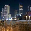 グローバルゲート最上階から撮影した夜の名駅ビル群(iPhone 8で撮影) - 9
