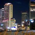グローバルゲート最上階から撮影した夜の名駅ビル群(iPhone 8で撮影) - 10
