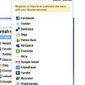 Chromeエクステンション:Shareaholic for Google Chrome(拡大)