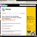 Twitterスクリーンショット:Garcya