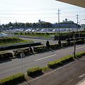 写真: 県道195号:光ヶ丘第二駐車場出入り口前_02