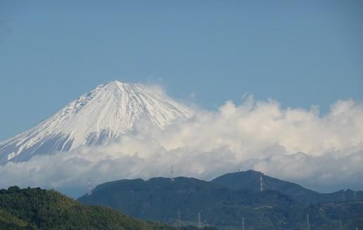 今日の富士山   (11月24日)