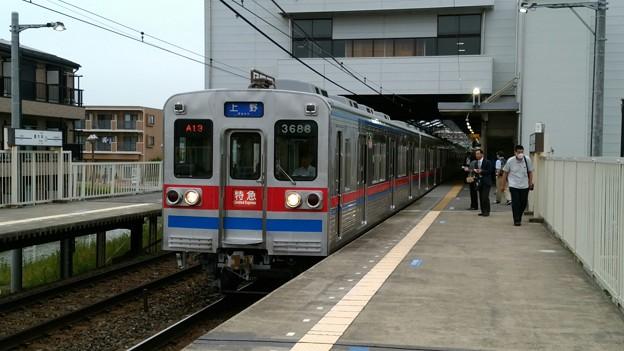 3688F 特急上野