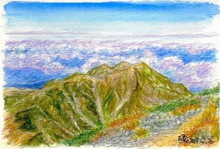 20141226奥大日岳