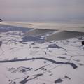 Photos: 空から雪国