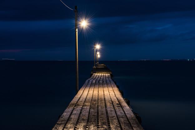 とある桟橋