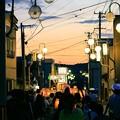 写真: 田楽灯籠祭り