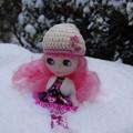 写真: 雪にダイブした~い!