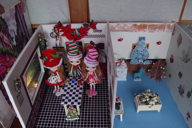 今年も2部屋作りました(*^。^*)