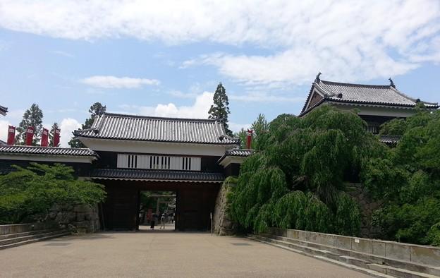 写真: 上田城