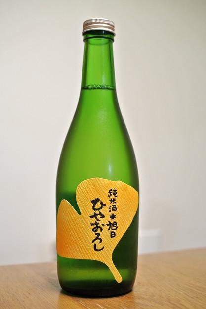 旭日酒造・十旭日出雲産五百万石純米酒ひやおろし25BY (1)