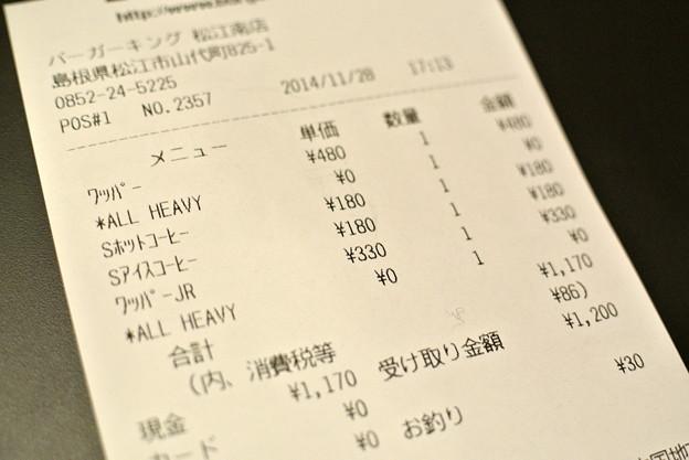 バーガーキング松江南店 2014.11 (15)