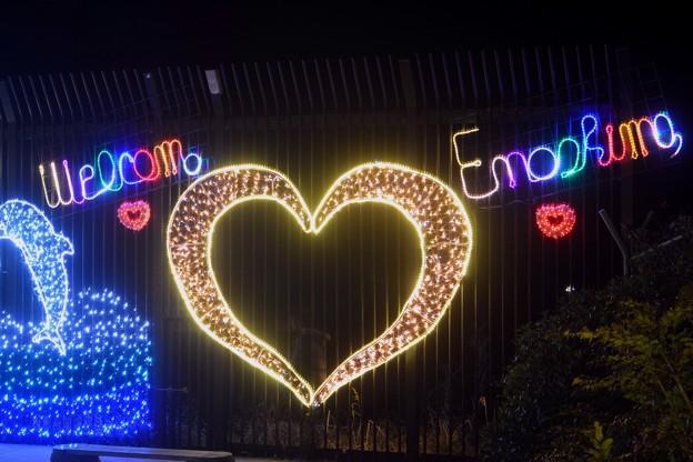 Valentine Island 2015 Enoshima #湘南 #藤沢 #江ノ島 #mysky #バレンタイン #イルミネーション #夜景
