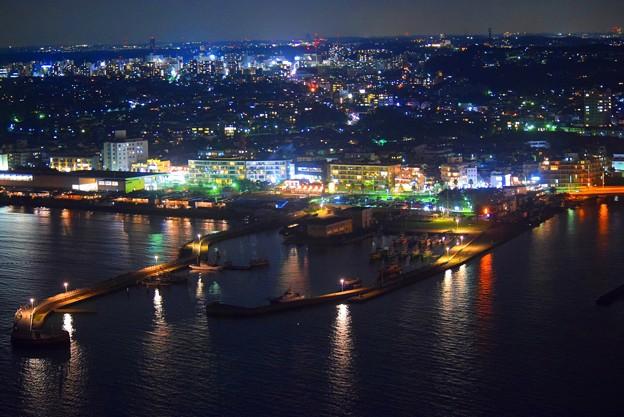 片瀬港の夜景 #湘南 #藤沢 #海 #波 #wave #江ノ島 #mysky #nightview #夜景