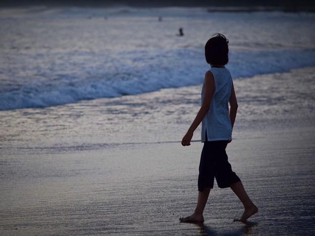夕暮れの湘南・鵠沼海岸 #湘南 #藤沢 #海 #波 #wave #surfing #mysky