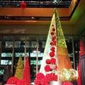 写真: 丸ビルのクリスマスツリー #xmas #イルミネーション #東京