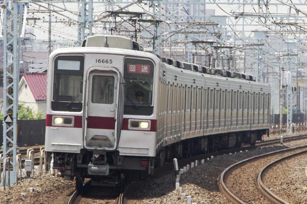 東武10030系 11665F [東武鉄道 谷塚駅]