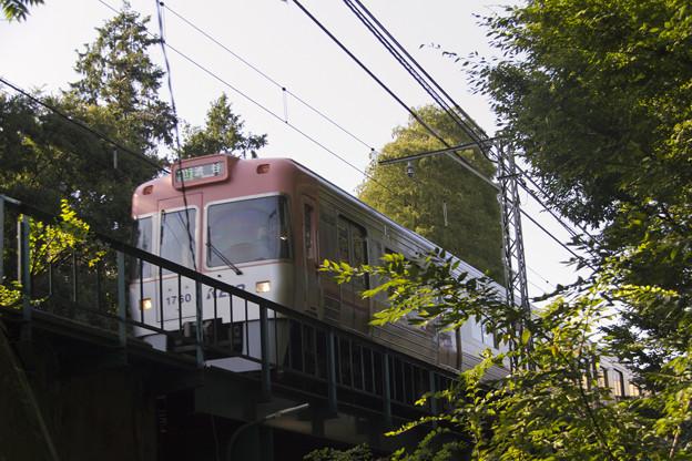 京王電鉄1000系 1710F [京王電鉄 井の頭公園駅-吉祥寺駅]