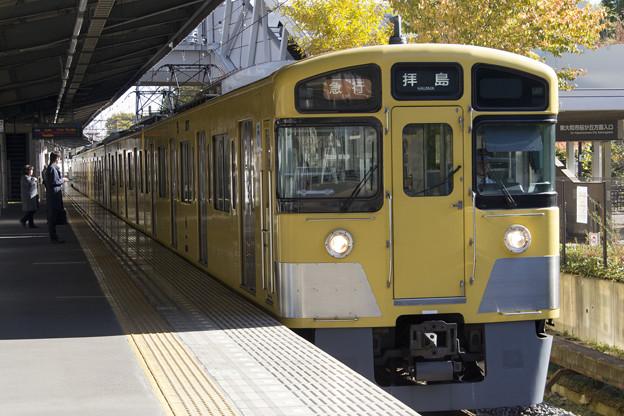 西武鉄道2000系 2451F+2007F [西武鉄道 玉川上水駅]