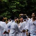 Photos: 雄叫び