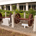 写真: 八高線の車輪