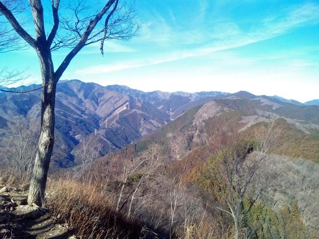 岩茸石山から棒ノ嶺方面の眺め
