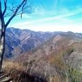 写真: 岩茸石山から棒ノ嶺方面の眺め