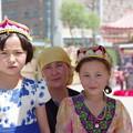 Photos: ウイグル族の少女