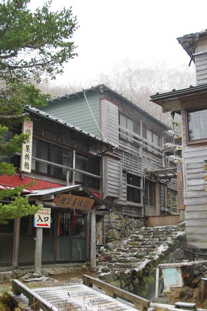 写真: 三斗小屋温泉