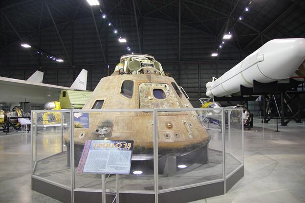 写真: アポロ15号