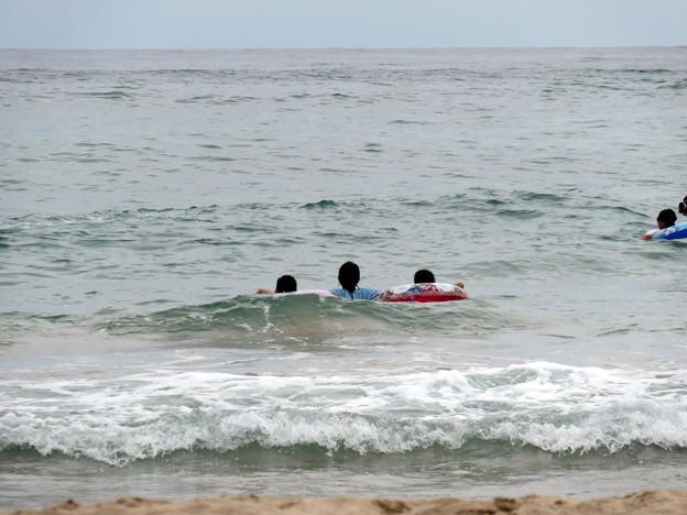 海水浴(島根石見海浜公園)に行く!