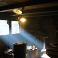 写真: 差し込む光