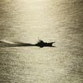 写真: シーキャンドルからの漁船