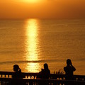 写真: 夕日