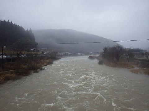 少し危険な川