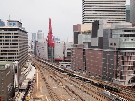 EF81 寝台特急トワイライトエクスプレス 東海道本線大阪駅(ルクア)