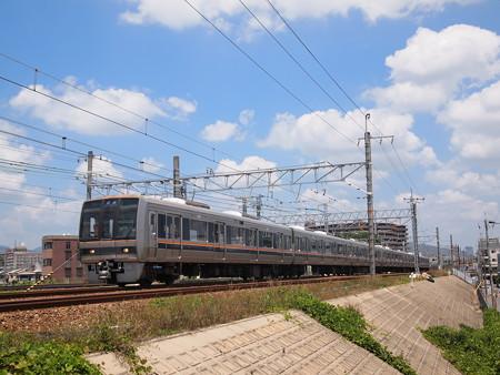 207系普通 東海道本線摂津富田~茨木