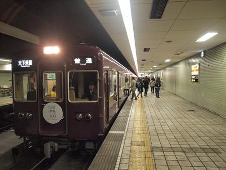 阪急5300系普通 堺筋線日本橋駅03
