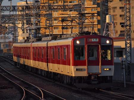 近鉄6400系急行 近鉄南大阪線今川駅