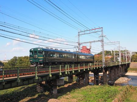 近鉄15200系 かぎろひ 近鉄大阪線安堂~河内国分