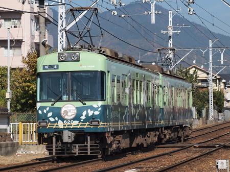 京阪600形鉄道むすめラッピング 近江神宮~皇子山
