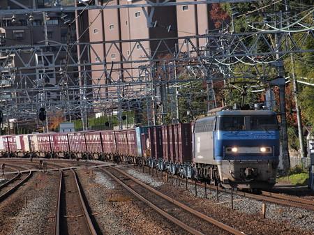 EF200貨物 東海道本線山崎駅