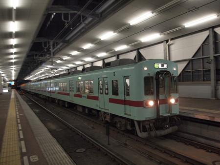 西鉄5000形急行 天神大牟田線薬院駅02